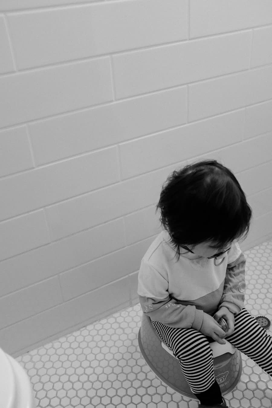 What to do when your toddler won't poop on the potty
